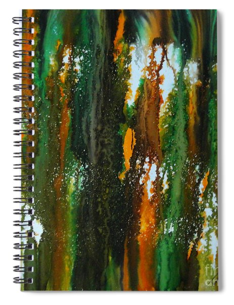 Spring Of Duars Spiral Notebook