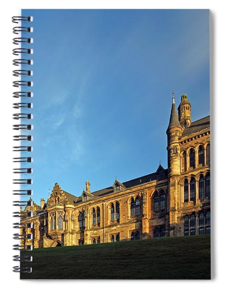 University Of Glasgow Spiral Notebook
