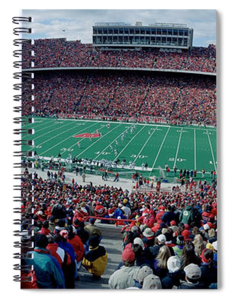 University Of Wisconsin Football Game Spiral Notebook