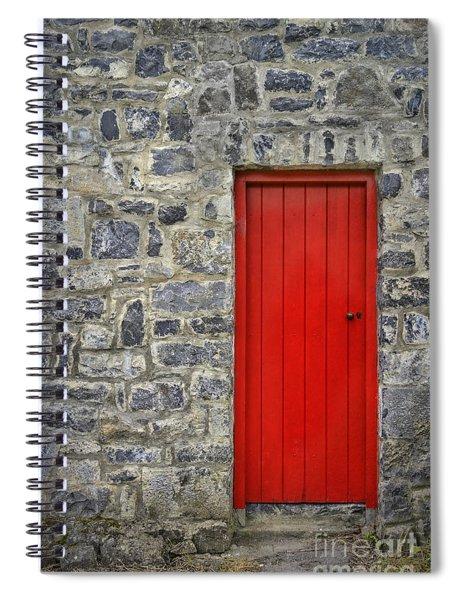 Unlock The Door Spiral Notebook