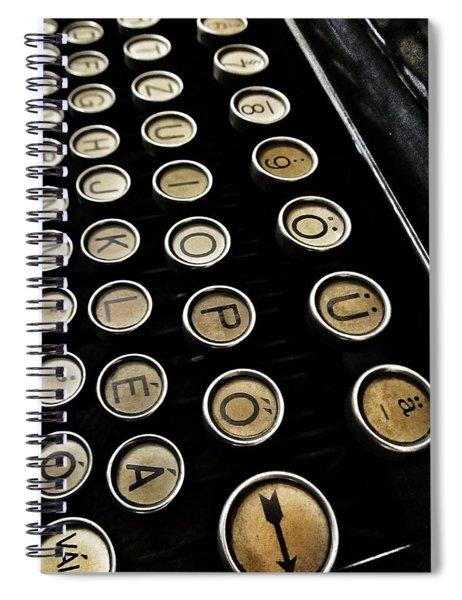 Unsaid Words Spiral Notebook
