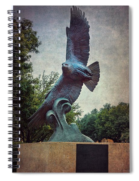 Unt Eagle In High Places Spiral Notebook