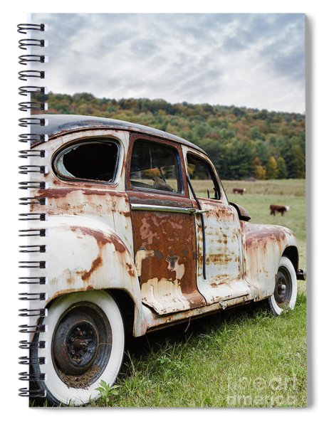 Until The Cows Come Home Spiral Notebook