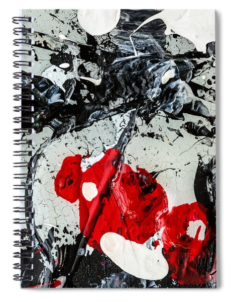 Untitled Number Two  Spiral Notebook