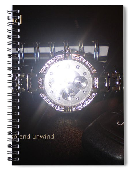 Unwind - Let Go Spiral Notebook