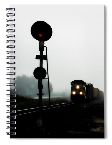 Spiral Notebook featuring the photograph Up 8057 by Jim Thompson