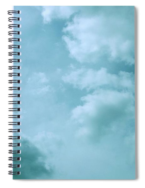 Up Into The Heavens Spiral Notebook