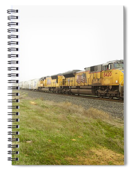Spiral Notebook featuring the photograph Up8420 by Jim Thompson