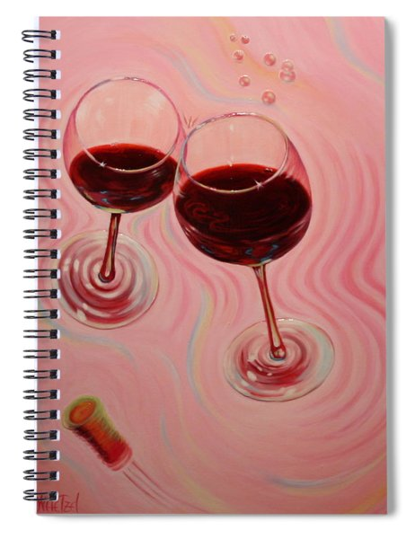 Uplifting Spirits II Spiral Notebook