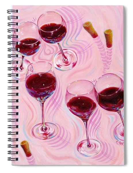 Uplifting Spirits  Spiral Notebook