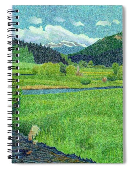 Upper Bear Creek Colorado Spiral Notebook