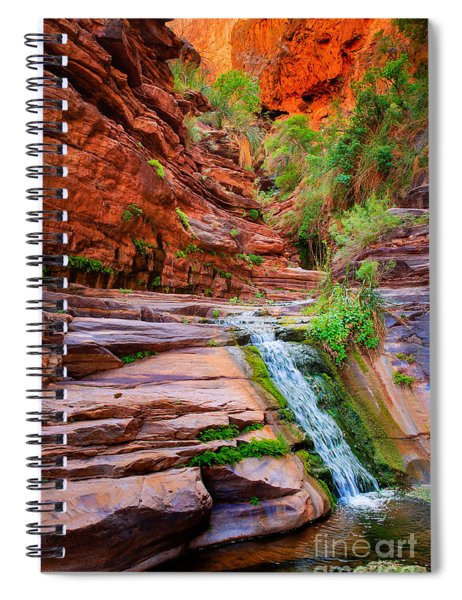 Upper Elves Chasm Cascade Spiral Notebook