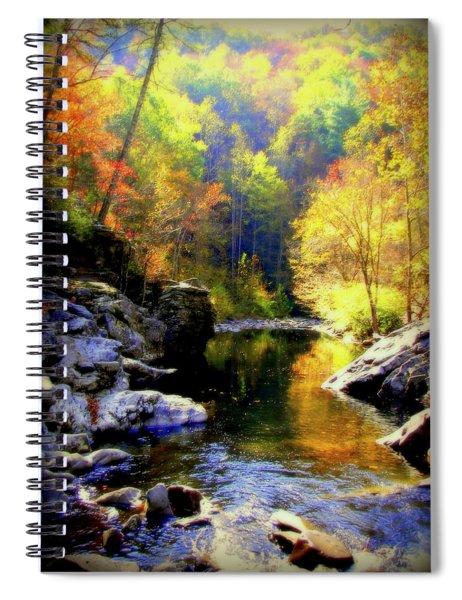 Upstream Spiral Notebook