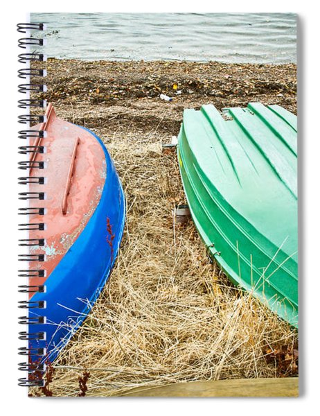 Upturned Boats Spiral Notebook