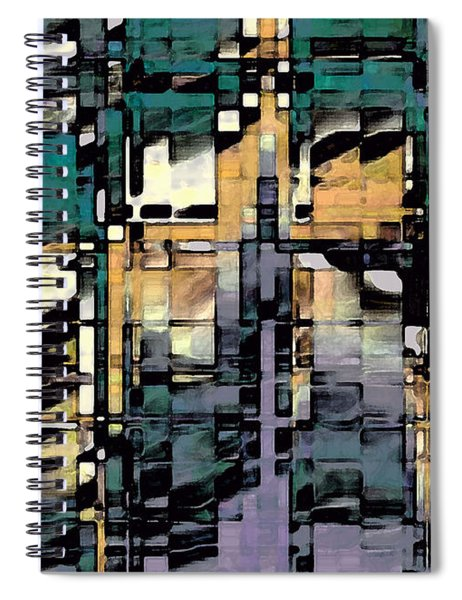 Urban Jungle Spiral Notebook