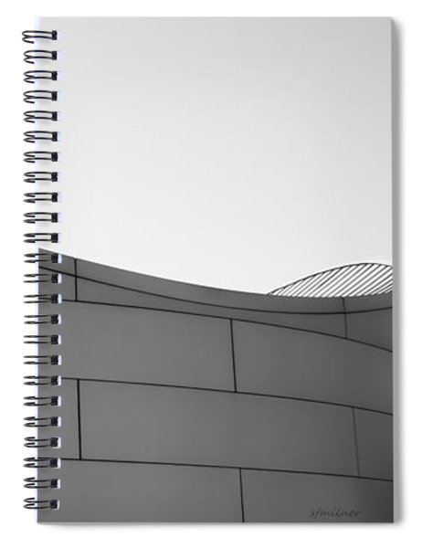 Urban Wave - Abstract Spiral Notebook
