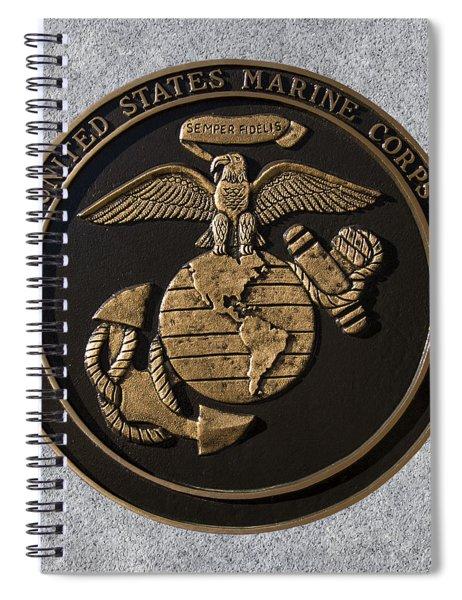 Us Marine Corps Spiral Notebook
