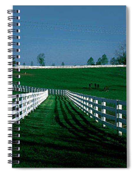 Usa, Kentucky, Lexington, Horse Farm Spiral Notebook