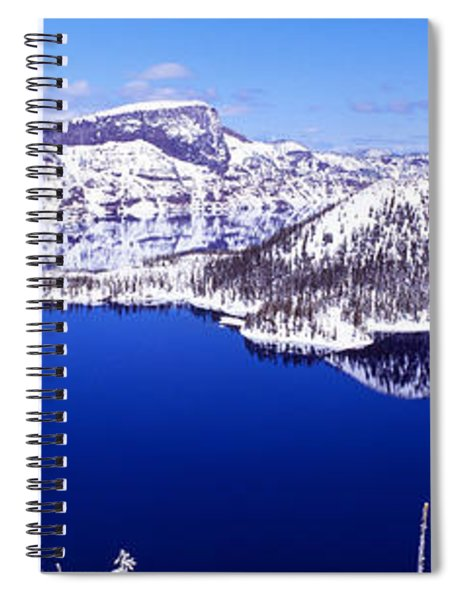 Usa, Oregon, Crater Lake National Park Spiral Notebook