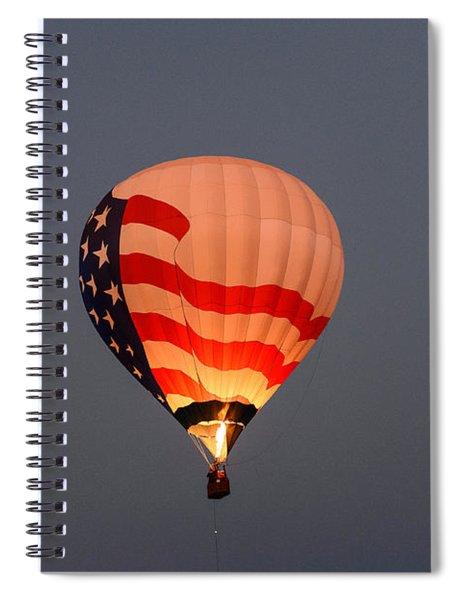 Usa Proud Spiral Notebook
