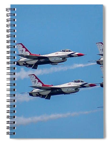 U.s.a.f. Thunderbirds Spiral Notebook