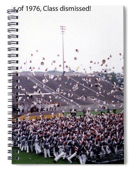 Usma Class Of 1976 Spiral Notebook