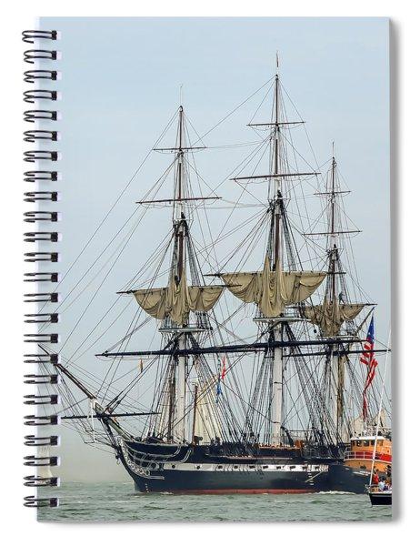 Uss Constitution Spiral Notebook
