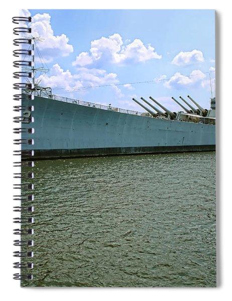Uss New Jersey Spiral Notebook