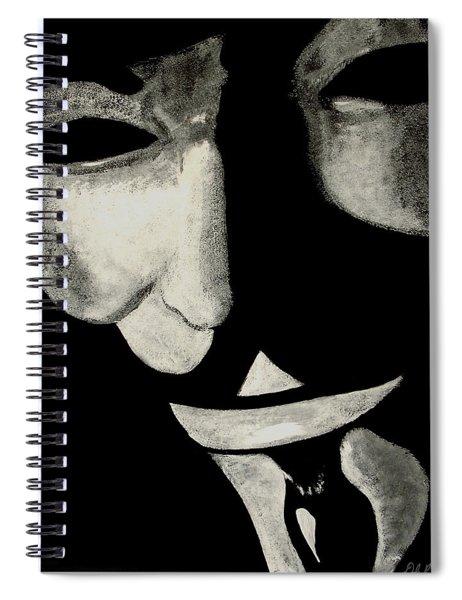 V Spiral Notebook