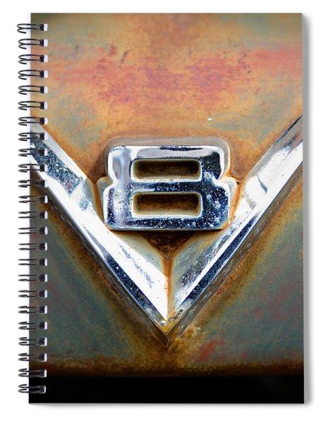 V8 Ford Spiral Notebook