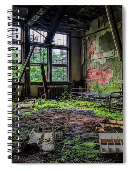 Vacant Spiral Notebook