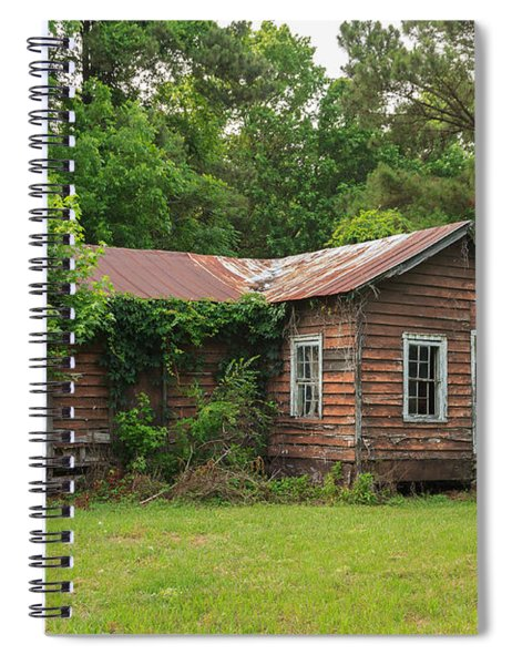 Vacant Rural Home Spiral Notebook