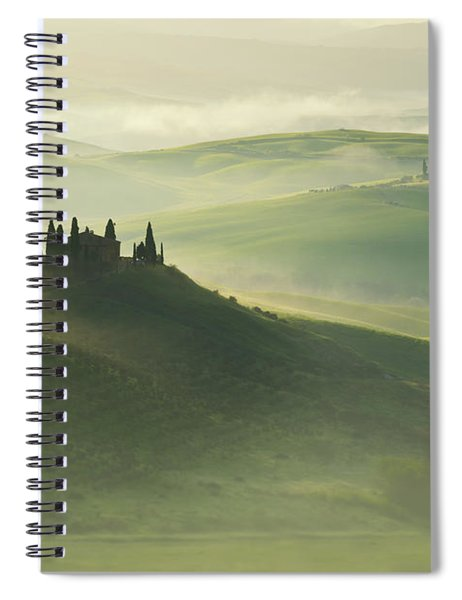 Val D'orcia Spiral Notebook