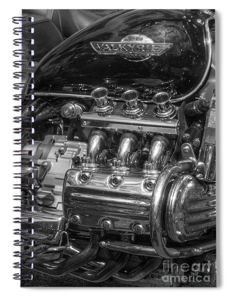 Valkyrie Power Spiral Notebook