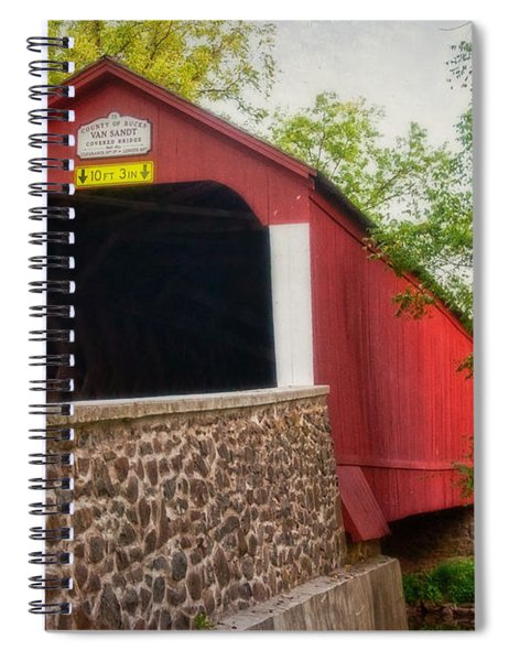 Van Sandt Bridge Spiral Notebook