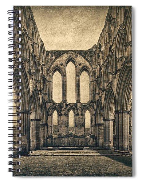Vanishing Glory Spiral Notebook