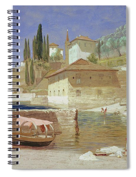 Varenna, Lake Como Spiral Notebook