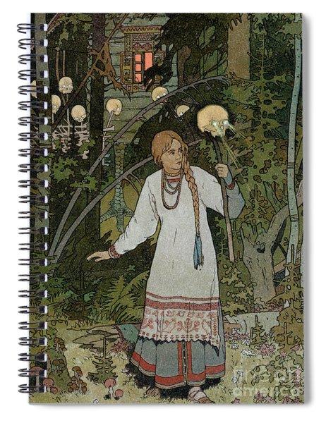 Vassilissa In The Forest Spiral Notebook