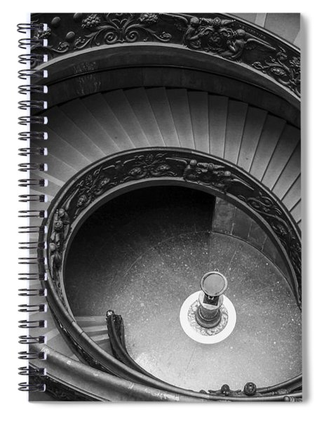 Vatican Stairs Spiral Notebook