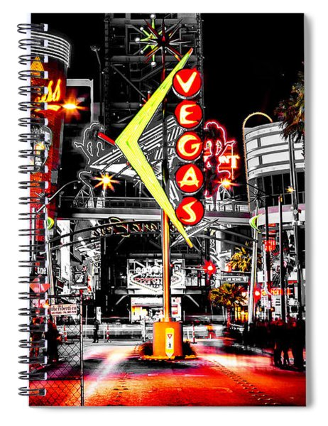 Vegas Nights Spiral Notebook