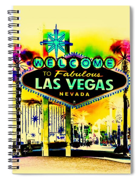 Vegas Weekends Spiral Notebook
