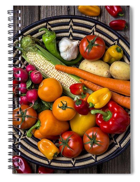Vegetable Basket    Spiral Notebook