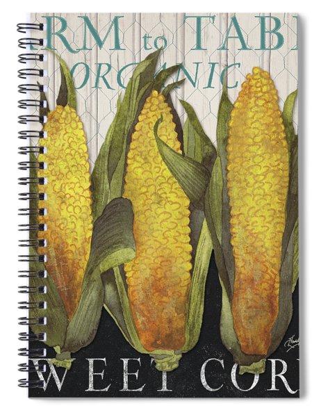 Vegetable Farm Fresh I Spiral Notebook
