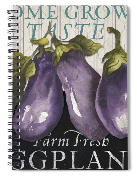Vegetable Farm Fresh Iv Spiral Notebook