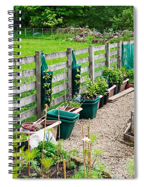 Vegetable Garden Spiral Notebook