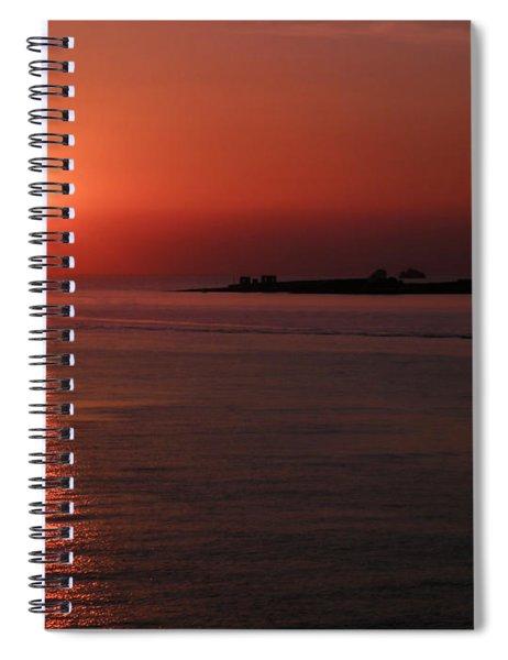 Vela In Grecia Spiral Notebook