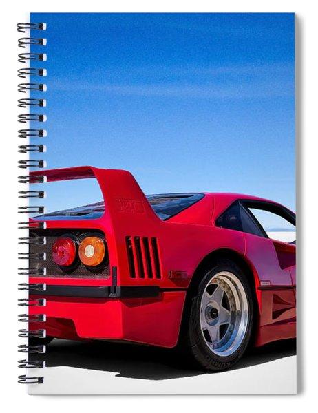 Veloce Equals Speed Spiral Notebook