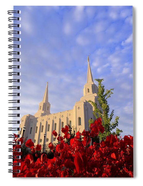 Velvet Spiral Notebook