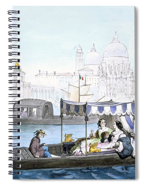 Venetian Gondola, From Vedute Dei Spiral Notebook