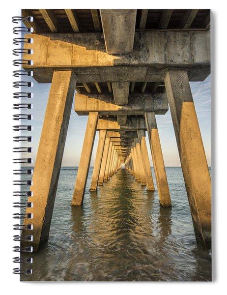 Venice Below The Pier Spiral Notebook